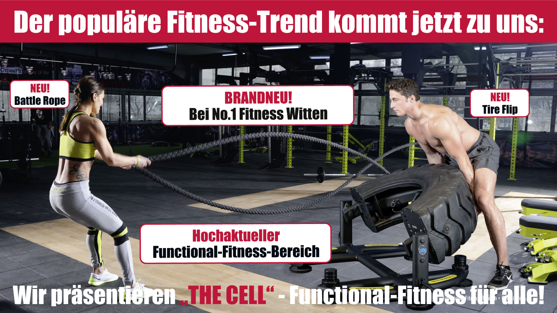 Functional Fitness Anzeige